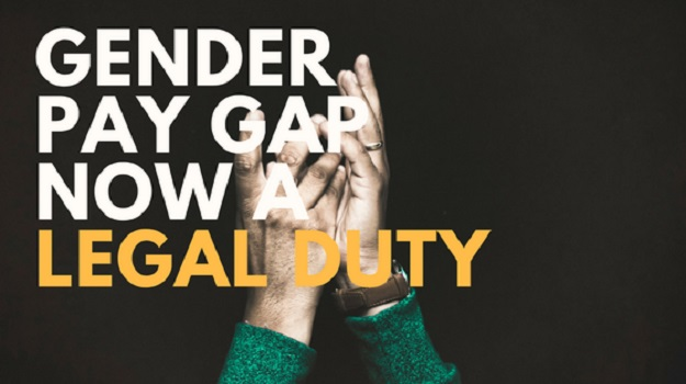 Gender pay gap now a legal duty
