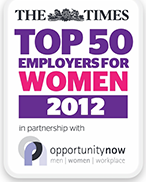 AMEX Top 50 Employers for Women 2012