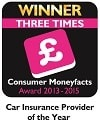 Hastings Direct Consumer Moneyfacts Award