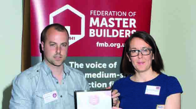 Chichester College student James King wins Master Builder Award