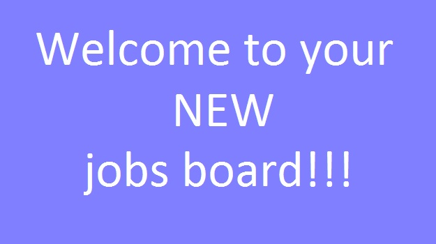 Welcome to your new jobs board!