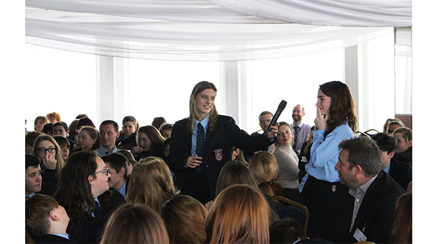Bexhill Academy students learn how to Be the Change with Hastings Direct