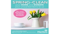 Remember Martlets as you spring-clean