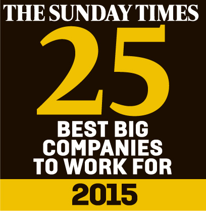 AMEX Sunday Times Best Big Companies 2015