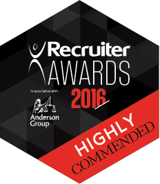 Highly Commended Recruiter 2016