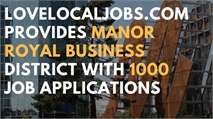 LoveLocalJobs.com provides Manor Royal Business District with 1000 job applications