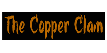 The Copper Clam logo